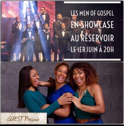 Tribe Inside – Concert Men of Gospel en showcase
