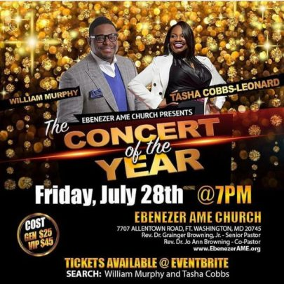 Tasha Cobbs Leonard & William Murphy live