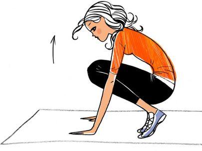 Exercice simple pour perdre du poid
