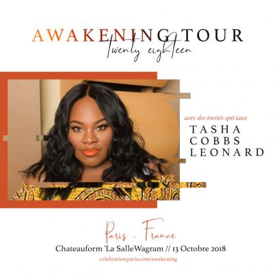 Célébration Awakening avec Tasha Cobbs!