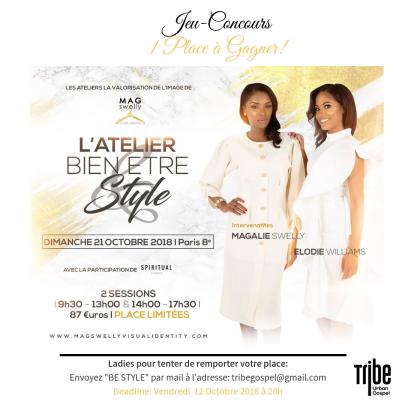 Jeu-Concours | Atelier Bien-être & Style