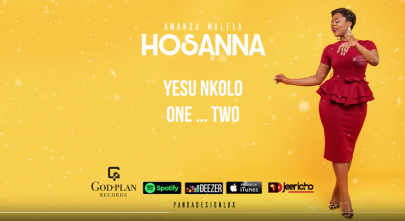 BRAND NEW! Amanda Malela – Hosanna [Lyrics Video]